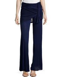 Young Fabulous & Broke Marina Wrap-Waist Pants - Lyst