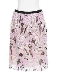 Christopher Kane Pink Skirt - Lyst
