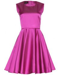 Giambattista Valli Satin Dress - Lyst
