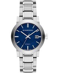Burberry - Men's The City Automatic Bracelet Strap Watch - Lyst