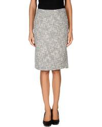 Tory Burch Knee Length Skirt - Lyst