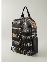 Versus  Safety Pin Backpack - Lyst