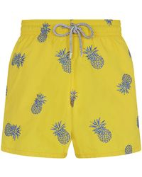 Vilebrequin Mistral Pineapple Swim Shorts - Lyst