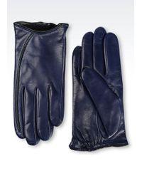 Armani - Deerskin Glove - Lyst