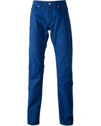 Jil Sander Straight Leg Trousers - Lyst