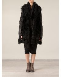 Lost & Found - Panelled Coat - Lyst
