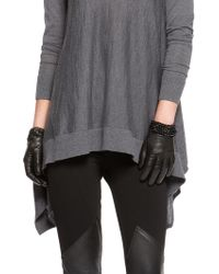 DKNY - Nappa Leather Shorty Gloves - Lyst