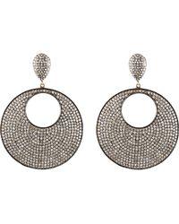 Carole Shashona - Moon Reflective Earrings - Lyst