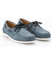 Mango - Leather Boat Shoes - Lyst