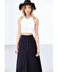 Truly Madly Deeply - Cropped Halter Top - Lyst