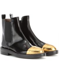 Marni Leather Ankle Boots - Lyst