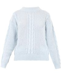 Lover Cable-knit Sweater - Lyst