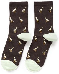 Hansel From Basel 'Stork' Crew Socks - Lyst