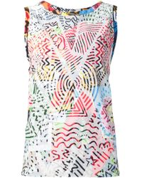 Vivienne Westwood Anglomania 'Soley Protest' Vest - Lyst