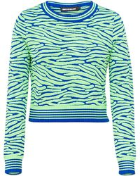 House of Holland Knit Crop Jumper - Lyst