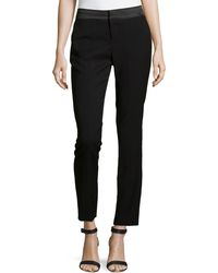 Catherine Catherine Malandrino Menzel Dress Ankle Pants W Center Seam - Lyst