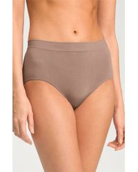 Wacoal Women'S 'B Smooth' Briefs - Lyst