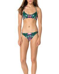 Mara Hoffman Basket Weave Bikini Top - Lyst