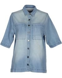 By Zoé Denim Shirt - Lyst