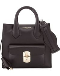 Balenciaga Padlock Mini All Crossbody Bag Black - Lyst