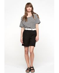 Carven Cotton Shorts - Lyst