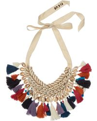 Figue - Leta Shell And Tassel Necklace - Lyst