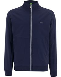 Hugo Boss Coated Sweatshirt - Lyst
