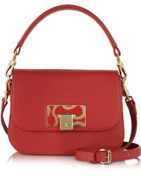 Vivienne Westwood Red Opio Saffiano Leather Small Shoulder Bag - Lyst