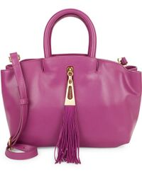 B Brian Atwood | Haven Leather Satchel | Lyst
