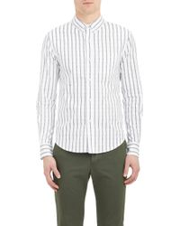 Band Of Outsiders Stripe Oxford-cloth Shirt - Lyst