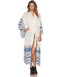 Spell & The Gypsy Collective Thunderbird Maxi Kimono - Lyst