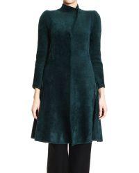 Giorgio Armani Coat Woman - Lyst