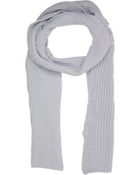 Barneys New York English Rib-knit Scarf - Lyst
