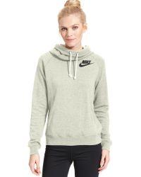 Nike Rally Funnel-neck Sweatshirt Hoodie - Lyst