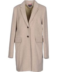 Tommy Hilfiger Coat - Lyst