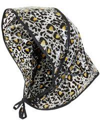 Topshop Leopard Rock A Bonnet - Lyst