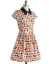ModCloth Poise and Click Dress - Lyst