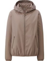 Uniqlo Women Light Pocketable Parka - Lyst