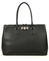 Furla Exclusively For Saks Fifth Avenue Mediterranean Large Satchel - Lyst