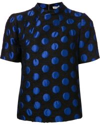 Suno Polka Dot Top - Lyst