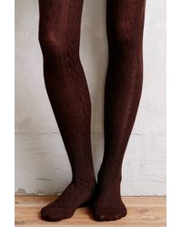 Hansel From Basel Coldstream Cabled Tights - Lyst