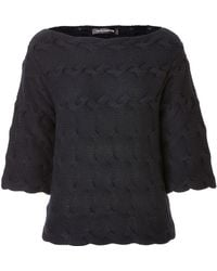 Iris Von Arnim Cashmere Braid Detailed Pullover - Lyst