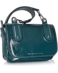 8f7e7cb342 Marc By Marc Jacobs - Ball Chain Hopper Green Leather Crossbody Bag - Lyst