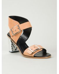 McQ by Alexander McQueen 'Crush' Sandals - Lyst