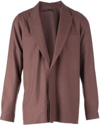 Haider Ackermann Lapelled Jacket - Lyst