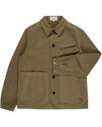 Paul Smith | Men's Olive Green Cotton-twill Workwear Jacket | Lyst