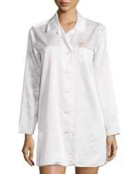 Louis At Home - St. Tropez Long-Sleeve Nightshirt - Lyst