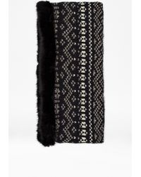 French Connection Lina Faux Fur Snood - Lyst