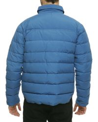 Penfield Eska Quilted Blue Jacket - Lyst