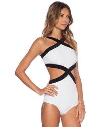 Osklen - Bicolor Swimsuit - Lyst